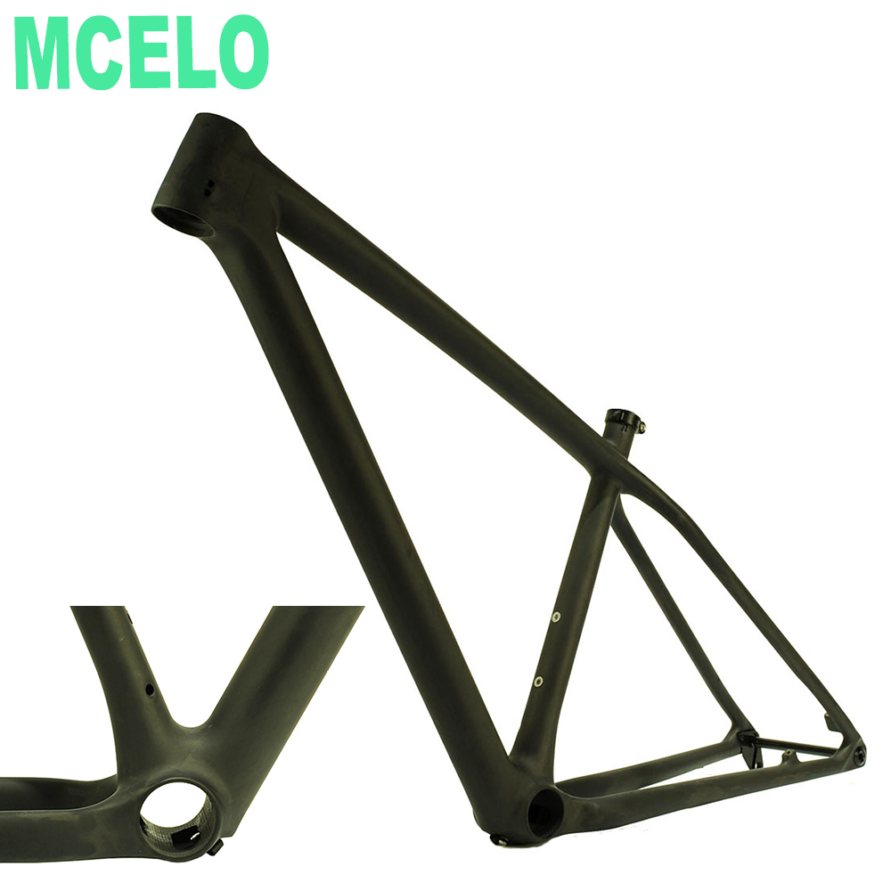 MCELO Carbon Road Frame Disc 2019 In Bicycle Frame Mtb Frame 27.5 Er 29 Er Boost Carbon Rear 148mm*12mm Thru Axle Quadro Carbono