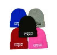 SSUR COMME DES FUCKDOWN Bone New 2017 Sport Spring Cap Men Hat Beanie Knitted Winter Hats For Women Fashion Caps Winter Gorro