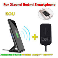 10W Original Qi Wireless Charger For Xiaomi 4X 4 X Note 4 5A Charging Pad With