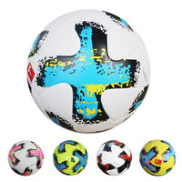 Free Of Shipping Premier League Offical Size Adult Soccer Ball PU Match Football Outdoor Training Ball