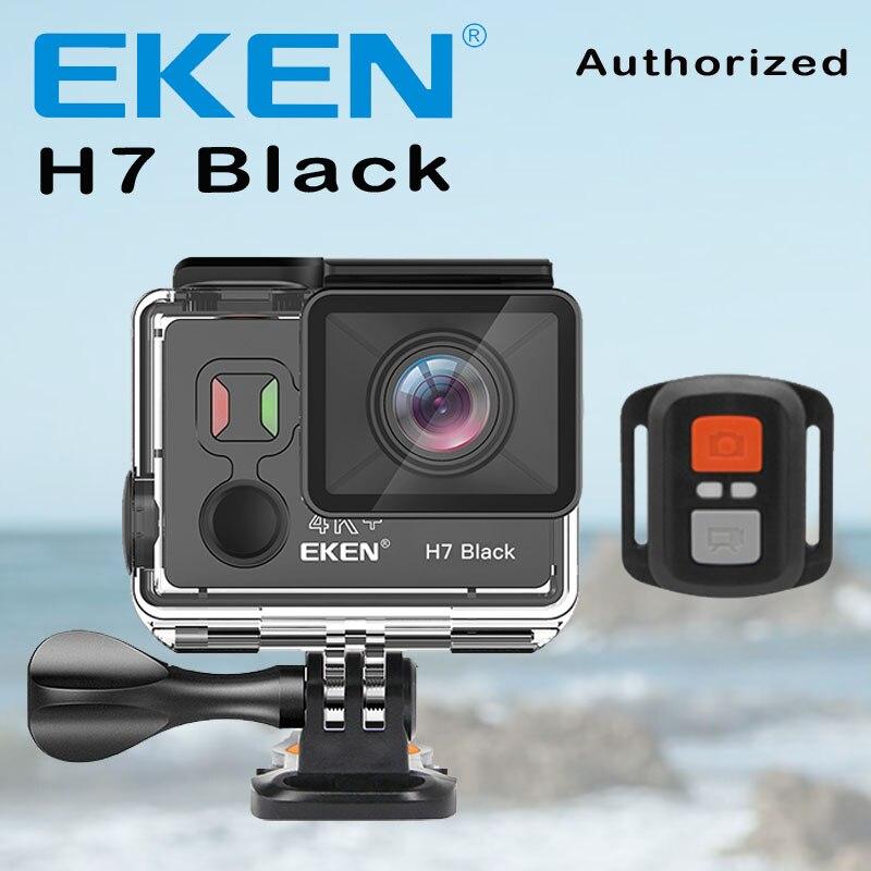 EKEN H7 Black Action Camera Ultra HD 4K 4k 30fps For Ambarella A12 14MP Go Waterproof