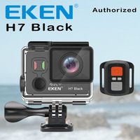 EKEN H7 Black Action Camera Ultra HD 4K 4k/30fps For Ambarella A12 14MP Go Waterproof Wifi Sport Cam Pro EIS Screen Rotation DV