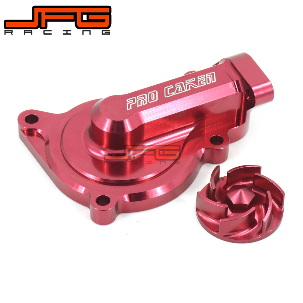 Motorcycle Billet Aluminum Engine Pump Cover Connect Set For ZONGSHEN NC250 NC 250CC Water Cooled Engine Kayo T6 K6 Dirt Bike new electric engine water pump 11517586925 for bmw x3 x5 328i 528i