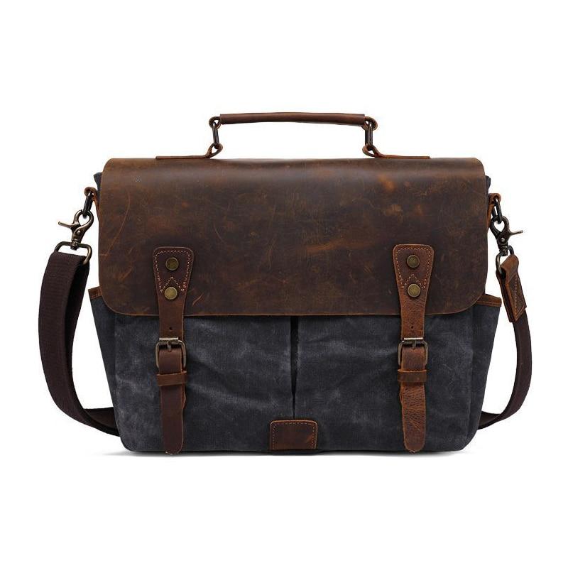 Vintage Retro Batik Canvas Waterproof Camera Shoulder Casual Messenger Photo Men Women 14 Laptop Bag for