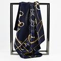 60cm*60cm 2016 Fashion Scarf Brand Female Stain Scarf Women Satin Square Scarf Shawl for Ladies