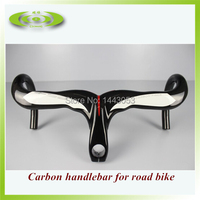 New carbon aerobar with 3k glossy finish bicycle handlebar for road bike use