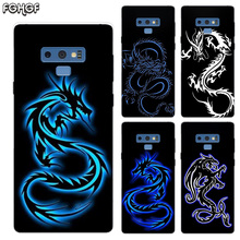Beautiful Dragon Sketch Transparent Soft Print Hull Shell Case For Samsung Galaxy Note 8 9 5 4 3 C5 C7 C8 C9 Cover