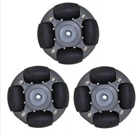 A Set Of 48mm L E G O Plastic Omnidirectional Wheel Omni Wheel 14113