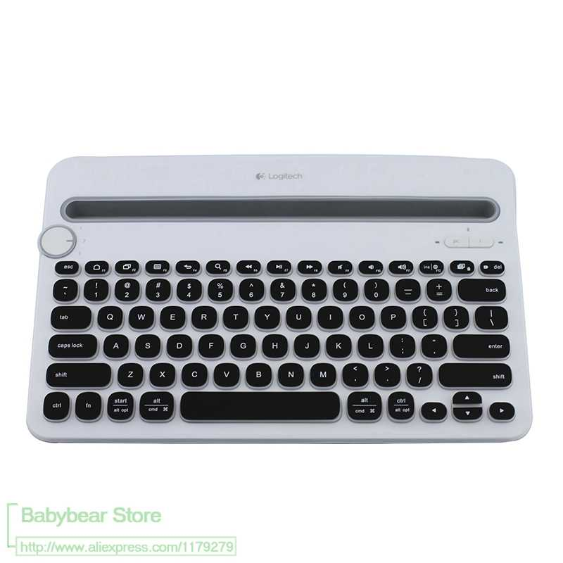 For logitech K380 multi-device Bluetooth keyboard mechanical Silicone  Keyboard Protective film Cover skin Protector