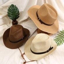 Cappello del Sole delle donne Big Bow Wide Brim Floppy Estate Cappelli Per  donne Beach Panama Cappello Di Paglia Della Benna Pro. 014c05491523