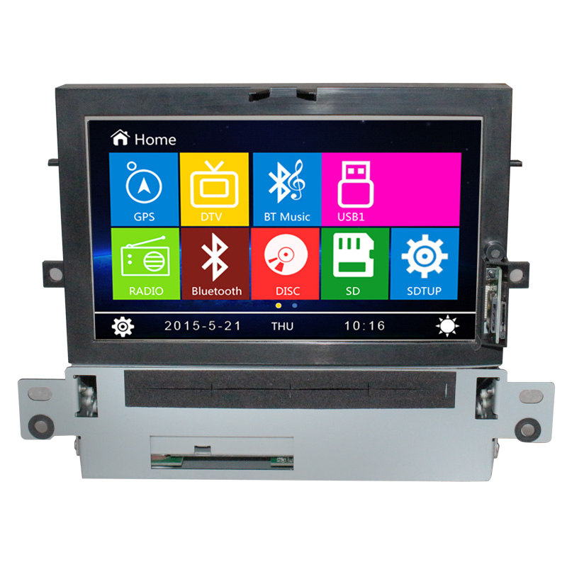 Touch screen font b car b font multimedia dvd player for Citroen C4L with autoradio dvd