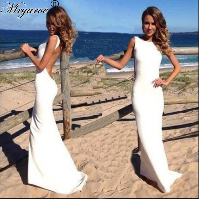 Vintage scoop high neck backless simply white wedding for High neck backless wedding dress