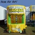 Горячая продажа надувной лимонад распродажа стенд Гранде стенд  Лимон сок концессия палатка со съемными баннерами для летних развлечений