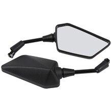 Motorcycle Rear View Mirrors For Kawasaki ER400 ER-4N 2011-13 ER250 Z250 2013-15