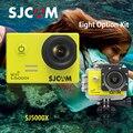 Original sjcam sj5000x 4 k edição elite do esporte câmera dv hd 2 k 5000X SJ Cam 2.0 LCD Mergulho 30 m À Prova D' Água Câmera Ação Capacete