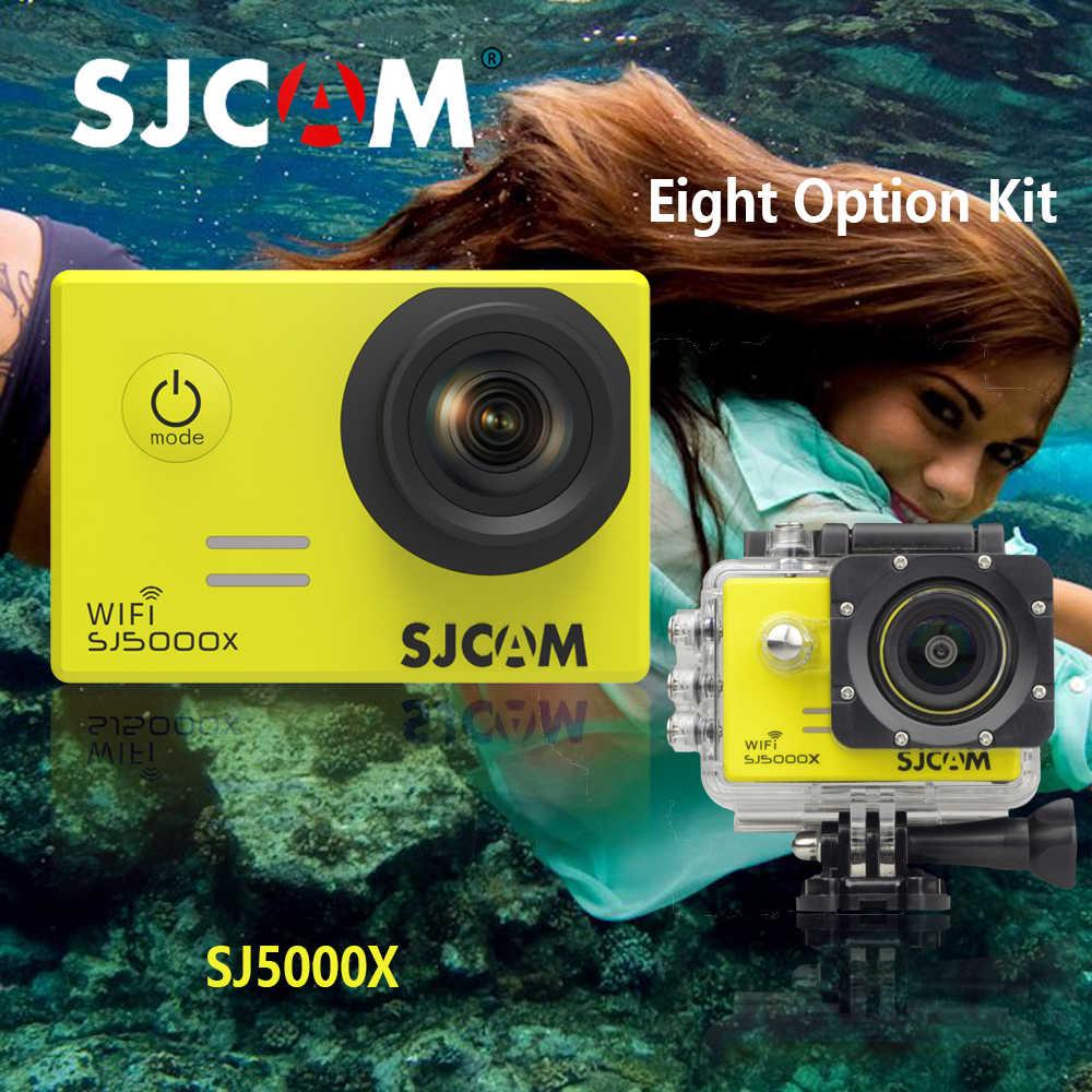 Оригинальная SJCAM SJ5000X 4 K Элитная Версия спортивные Камера HD 2 K DV SJ 5000X Cam 2,0 ЖК-дисплей, позволяющая погружаться под воду на глубину до 30 м Водонепроницаемый шлем для Камера