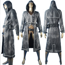 Dishonored Corvo Attano Outfit Hoodie Uniform Halloween Anime Comic con Cosplay Costume Christmas Xmas Gfit