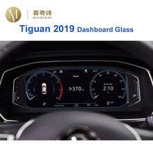 Для Volkswagen Tiguan приборная панель закаленное стекло Защита экрана приборная панель экран против царапин пленка приборная панель Стекло