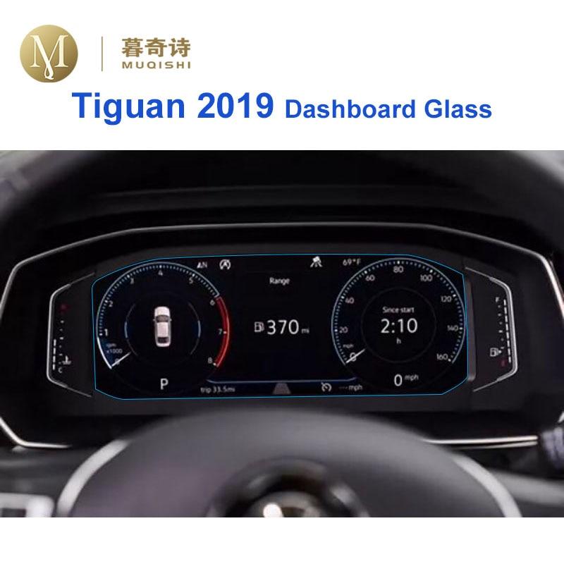 For Volkswagen Tiguan 2019 Instrument Panel Tempered Glass Screen Protector Dashboard Screen Anti Scratch Film Dash Board Glass