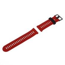 Для garmin fenix 3 hr мягкий силиконовый ремешок замена наручные часы band + наборы инструментов красный