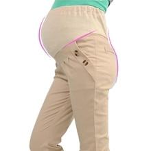 Fashionable pregnant clothes casual cotton pregnant women's pants pregnant pants pantalon embarazada verano maternity clothes