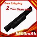 6600 mah bateria do portátil para asus a31-k53 a32-k53 a42-k53 a43 a45 a54 a83 K43 K53 K54 K84 A84 P43 P53 X43 X44 X53 X54 X5P X84
