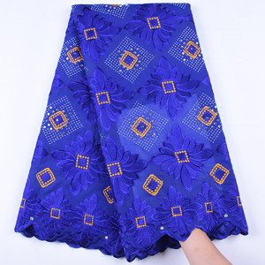 African Cotton Swiss Voile Lace In Switzerland New Arrival Voile Lace 100% Cotton Nigerian Lace Fabrics For Dress Party F1667(China)
