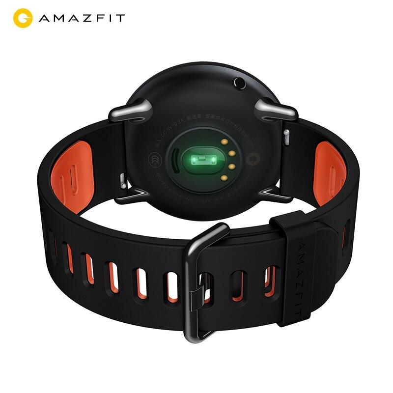 7d49a0cd1a4 Huami Amazfit Pace Ritmo Relógio Inteligente Monitor de Freqüência Cardíaca  Esportes Bluetooth Smartwatch Preto Zircônia Cerâmica em Relógios  inteligentes ...