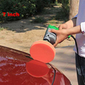 7 Polegada Car Pintura Cuidados Conjunto De Polimento Enceramento Esponja Almofadas de Polimento Composto Auto Lavagem Ferramenta de Limpeza 7 Pcs/Kit