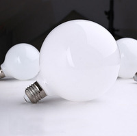 الحليب الأبيض LED لمبات ضوء G80 G95 G125 E27 الرجعية ل خيوط ضوء خمر مصباح بيضاوي الزجاج العتيقة 220 فولت Led لمبة للمنزل-في أنابيب ومصابيح LED من مصابيح وإضاءات على