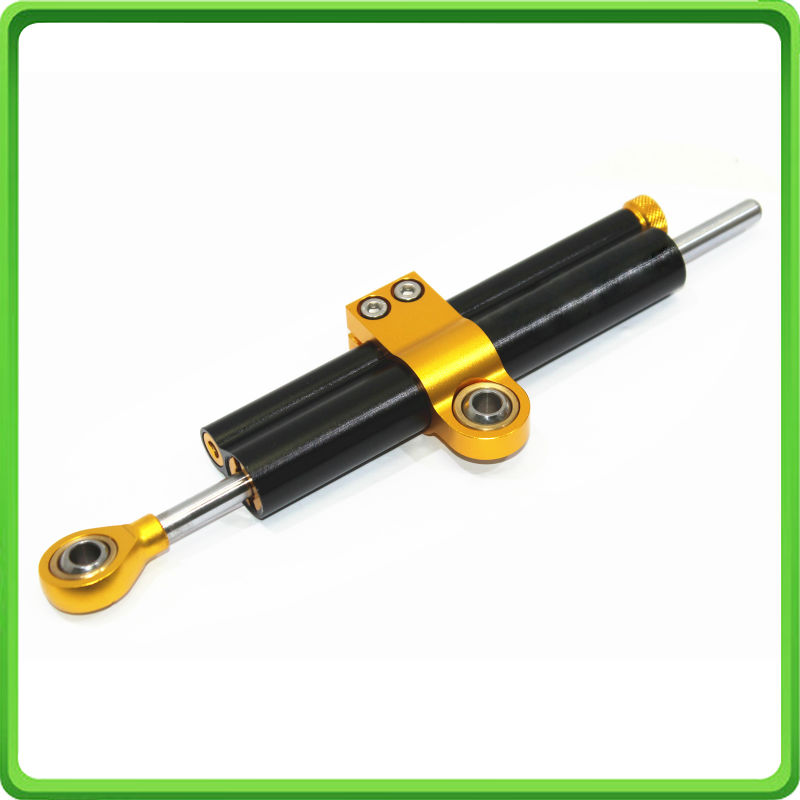 AMTA Racing 63mm Piston Type Steering Damper Stabilizer Fit For KAWASAKI Ninja ZX-6R ZX636 2013 2014 2015 2016 13 14 15 16 BLACK