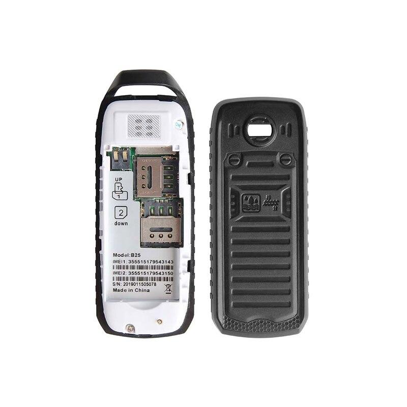Image 5 - UNIWA B25 Unlocked Mobile Phone Super Mini Small 2G GSM Cellphone Bluetooth Wireless Earphone Kid 380mAh Battery Mobile PhoneCellphones   -