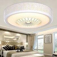 Светодио дный потолочные светильники спальня светодио дный лампы Теплый круглый творческий лампа балкон освещение современный минималист