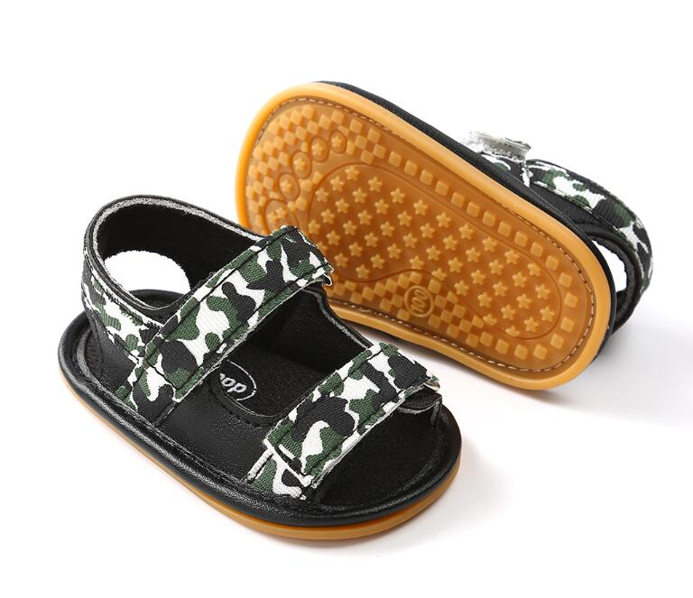 New Summer Breathable Baby Boys girls shoes Kids Camo Hollow Out Anti-skid Casual Baby Cack Shoes 2018 hot sale