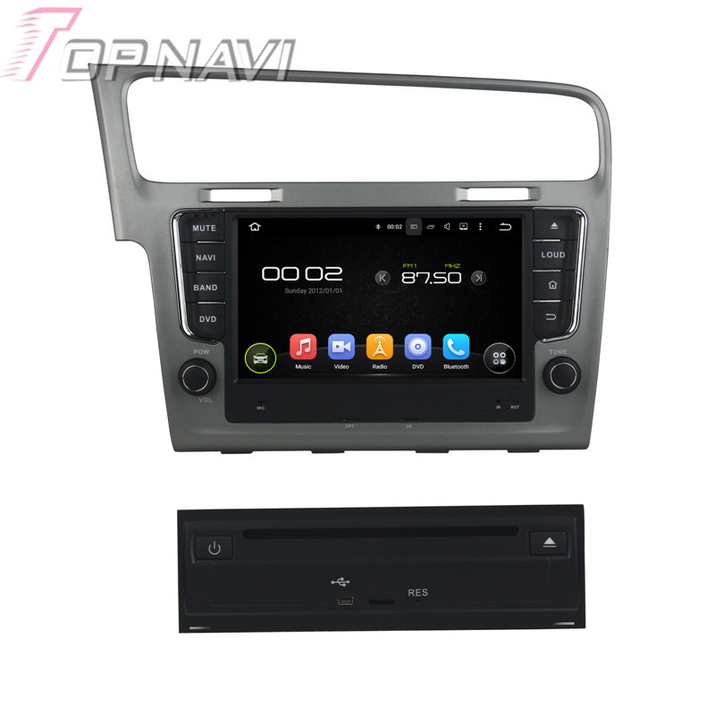 8 Quad Core Android 5 1 Car font b GPS b font Navigation For Volkswagen Golf