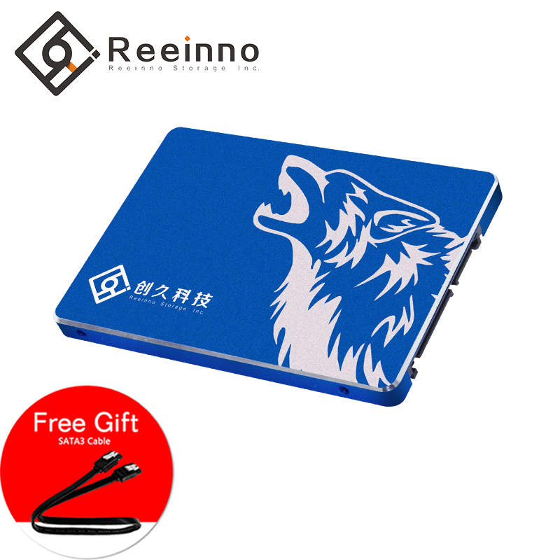 Reeinno 960GB/480GB/240GB/120GB SATA3 SSD 2.5inch 3D Nand flash Laptop Desktop