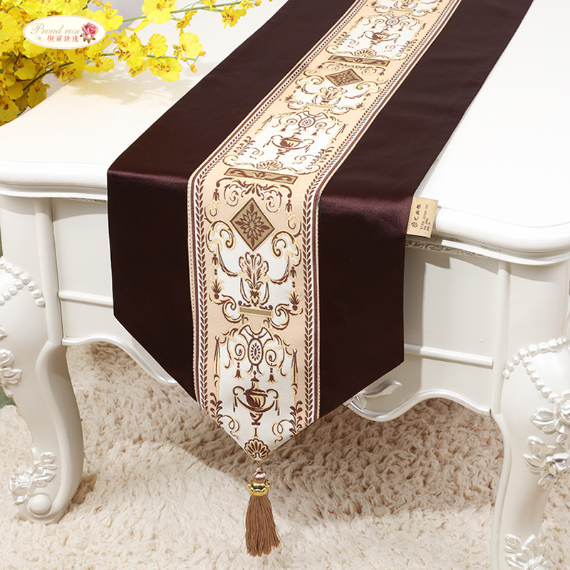 Proud Rose European Table Flag Home Table Runner American Bed Flag Table Cloth TV Cabinet Cover Customized