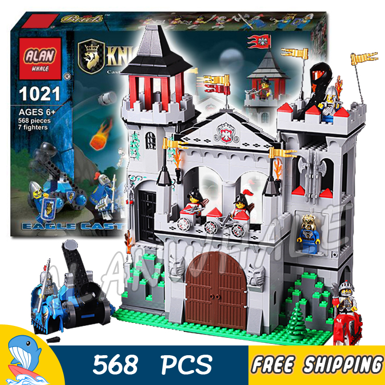 568pcs The Eagle Castle Medieval Lion Knights Kingdoms Tower Model Building Blocks Kit Bricks Children Toys Compatible With Lego 2015 new 2mx3m warning sign on the beach digital backdrops muslin vinyl photography background