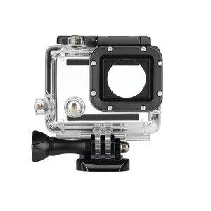Image 2 - מקרה עמיד למים 45M צלילה ספורט דיור תיבת עם זכוכית הרכבה לgopro Hero 3/3 +/4 מצלמה