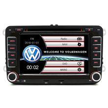 2 Din Car DVD Multimedia Player WiFi Dello Schermo di Tocco Radio FM AM GPS SWC per Volkswagen/Jetta/Skoda /Polo/Caddy/Tiguan/Turan/Amark