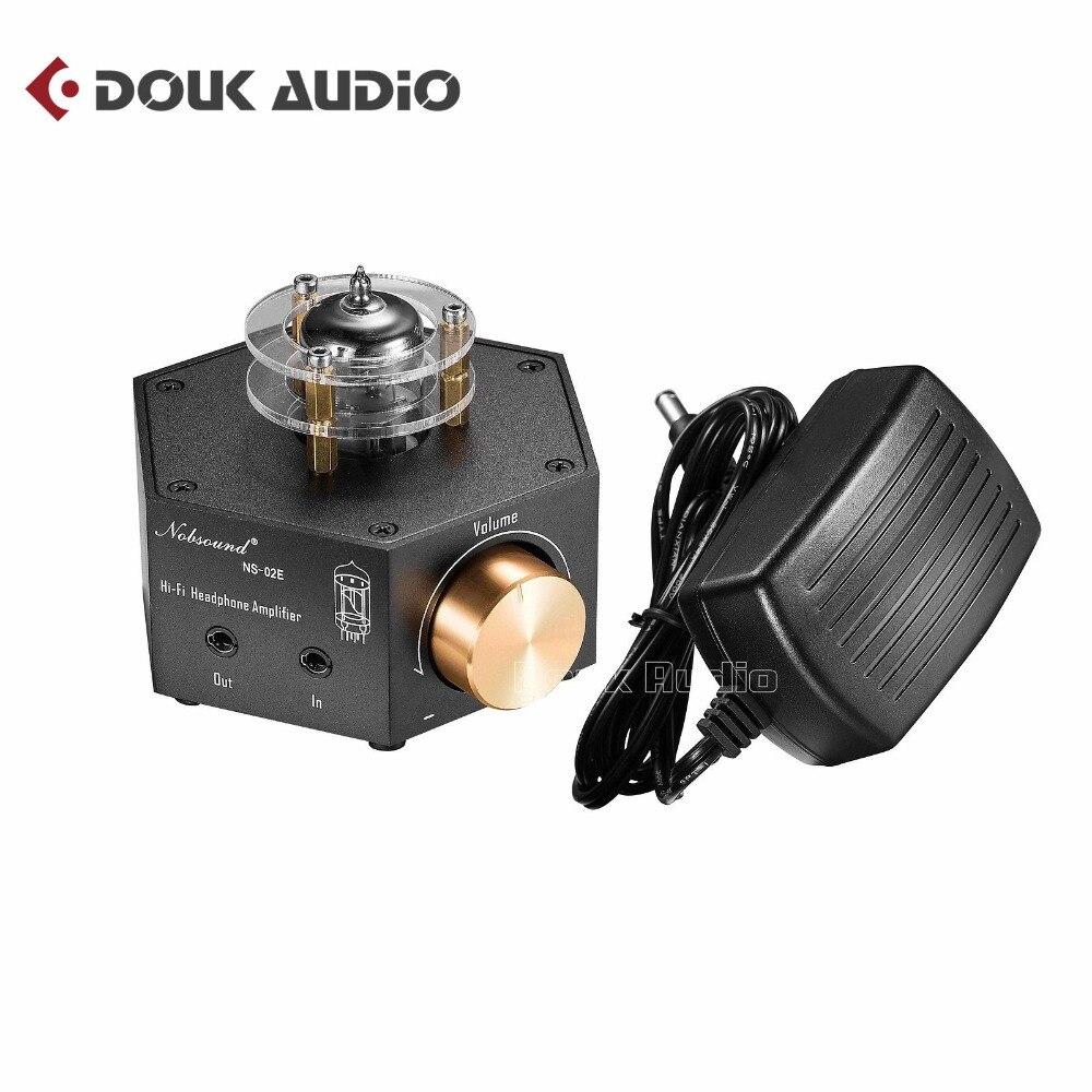 2018 Lastest Nobsound Mini Classe A Amplificatore A Valvole 6N3 Stereo HiFi Headphone Amp Pre-Amplificatore Spedizione Gratuita