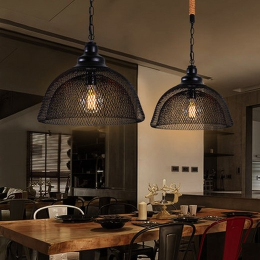 American Loft Style Rope Iron Droplight Edison Pendant Light Fixtures For Dining Room Hanging Lamp Vintage Industrial Lighting american loft style iron rope droplight edison pendant light fixtures for dining room hanging lamp vintage industrial lighting