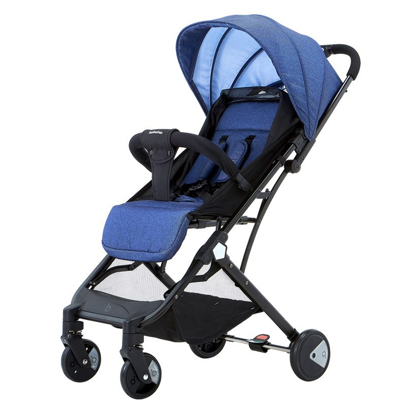 Baby Stroller Brand Lightweight Cart Portable Folding Baby Carriage Can Sit Can Lie 2 In 1 Mini Size Baby Trolley Baobaohao