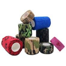 2.5/5/7.5Cm*4.5M 3pcs/Lot Fitness Sport Muscle Health Care Kinesiology Tape Self-Adhering Elastic Adhesive Bandage Wrap E