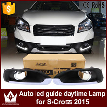 GuangDian 1 Set New Car Flashing LED DRL Daytime Running Light Daylight Kit Waterproof For Suzuki S-Cross S cross 2014 2015 2016