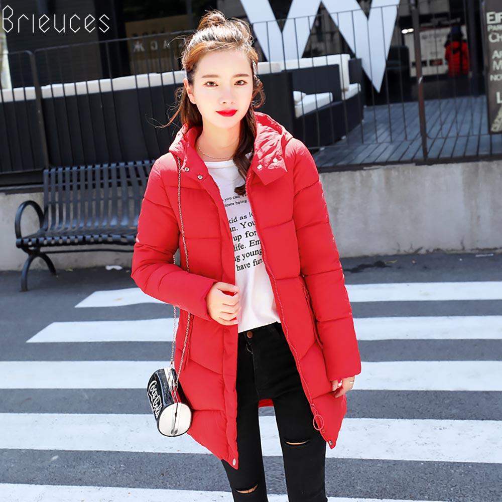 Beieuces 2018 Warm Winter Jacket Women Hooded plus size Outwear Bread Loose Style warm Winter Coat women Thicken long Parkas