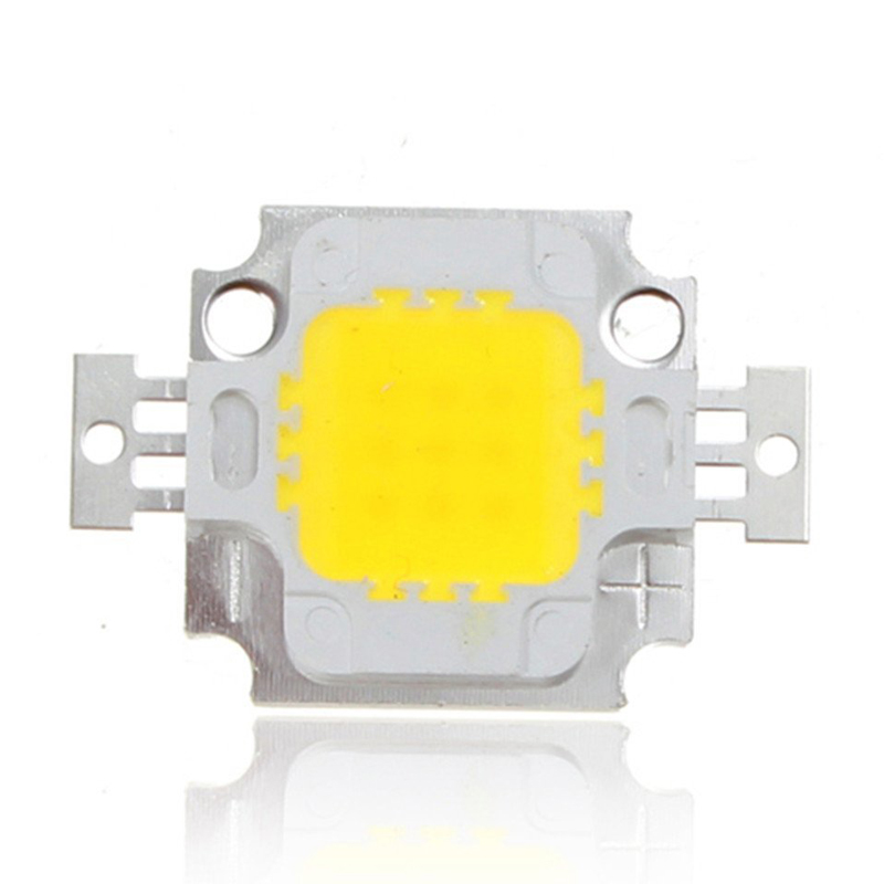 Pro Lighting Accessories 10PCS Epistar 10W High Power Integrated Chip DIY LED Beads IC lamp SMD LED COB Chips Flood Light AA