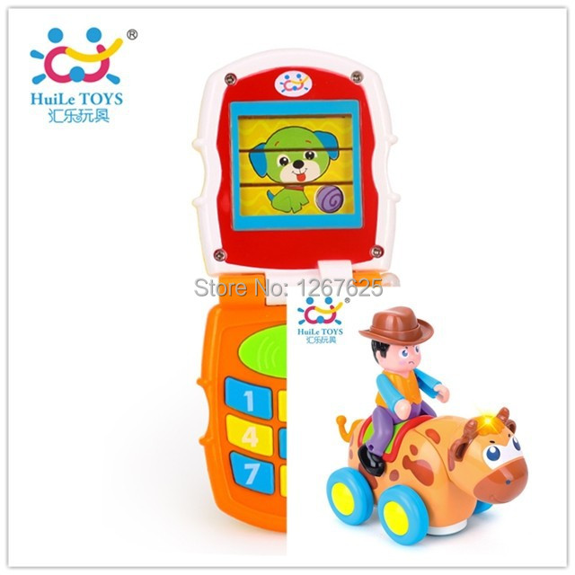 Electronicos Animal Brinquedos para Educativos Bebe Toys Music Mobile Free Shipping Huile Toys 766 & 838B