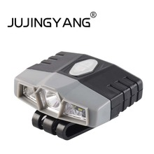 JUJINGYANG Fishing infrared sensor head lamp rechargeable bright LED waterproof night fishing light