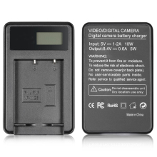 цена на New USB Battery Charger for Fujifilm NP-W126 and Fuji FinePix HS30EXR/HS33EXR/HS50EXR/X-A1/X-E1/X-E2/X-M1/X-Pro1/X-T1